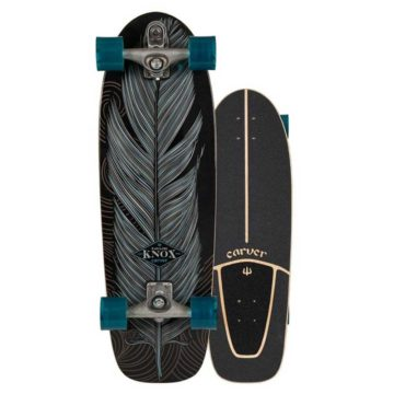 carver surf skate 31.25 knox quill c7