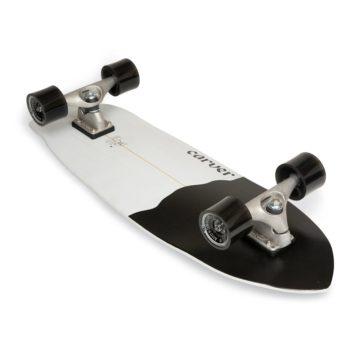 Carver skateboards - Black Tip under