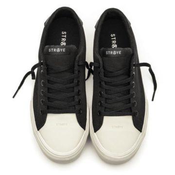 Straye - Stanley black bone skate shoe