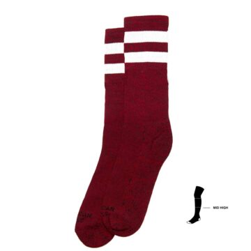 american socks red noise