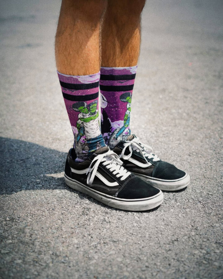 American Socks Signature - Frankenstein model