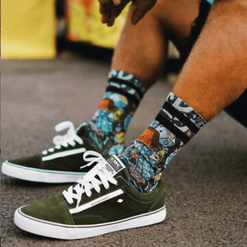 American Socks - Lucky Vandals model