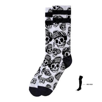 American Socks - Skater Skull