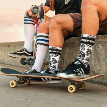 American Socks - Skater Skull model