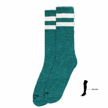 american socks turqoise noise
