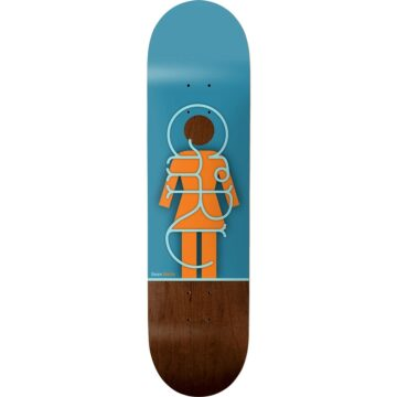 girl skateboards - malto og liner 8.25""
