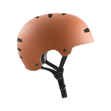 TSG Evolution Helmet - Satin Natural Gum side