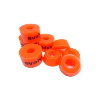 Evolve bushings orange