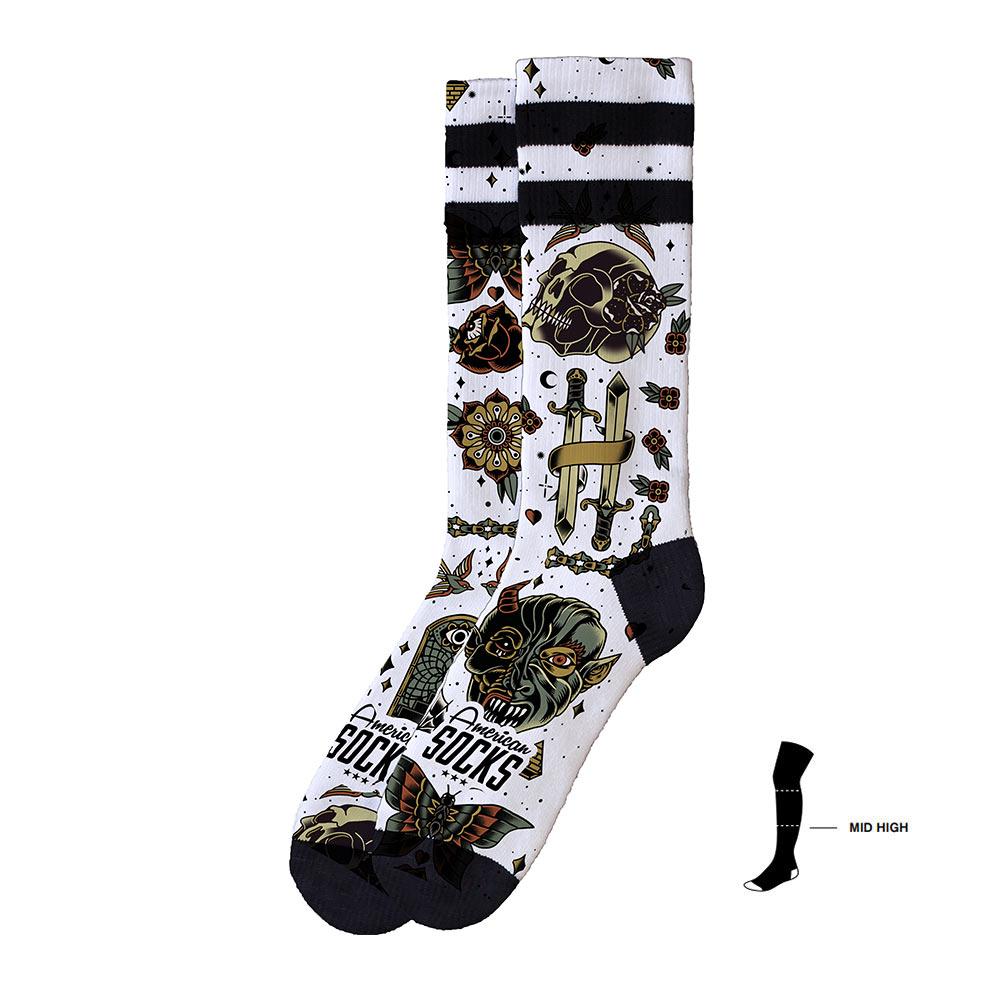 American Socks Tortilla Mid High