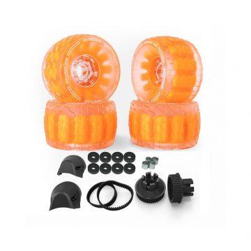 Cloudwheels 105-120mm orange combo pack Exway
