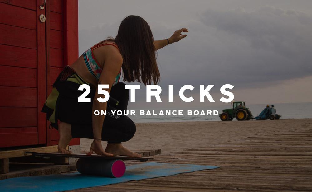 Balance Boards - 25 tricks