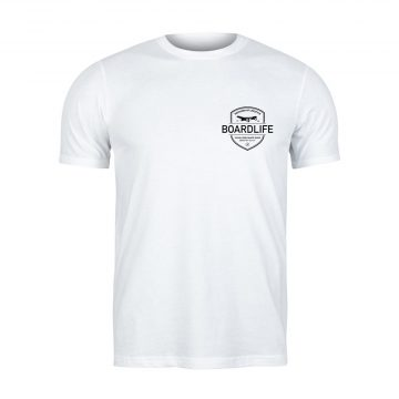 Boardlife Ultimate T-shirt White front