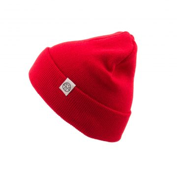 5000 Miles Basic Red beanie