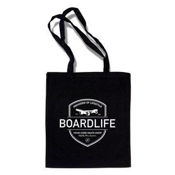 Boardlife tygpåse woven Bag black