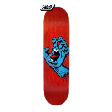 Santa Cruz - Screaming hand deck purple 8.0""