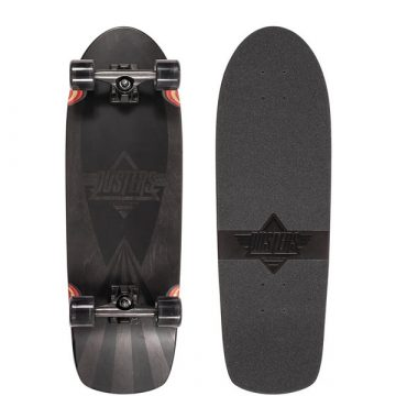Dusters Skateboards black cazh cruiser