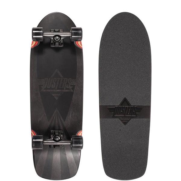 Dusters Skateboards black cazh cruiser