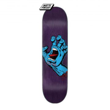 Santa Cruz - Screaming hand deck purple 8.375""