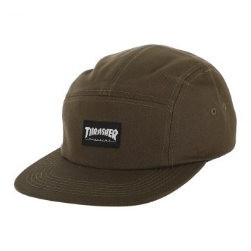 Thrasher 5-panel Hat Army