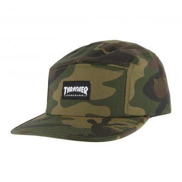 Thrasher 5-panel Hat Camo