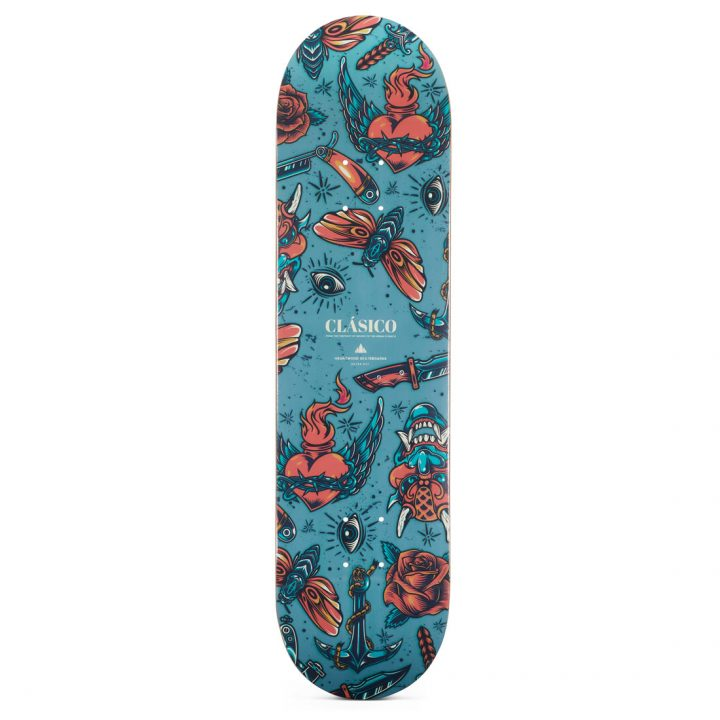 "Heartwood Skateboards Clásico 8.125"" skateboard deck only"