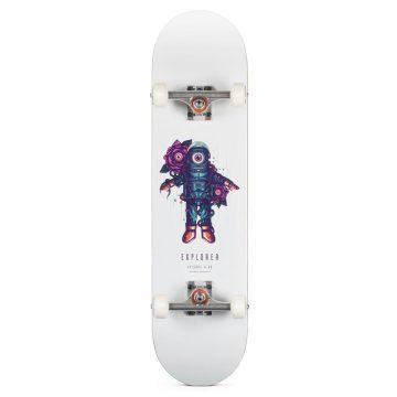 "Heartwood Skateboards Explorer 8.0"" skateboard complete"