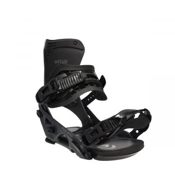 flux snowboard binding DS series mrtallic black2