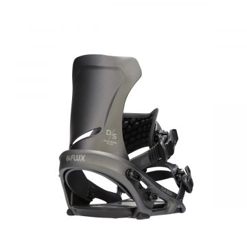 flux snowboard binding DS series mrtallic black3