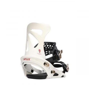 flux snowboard binding DSL series gradiation white3