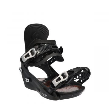 flux snowboard binding SR series-black-resin2