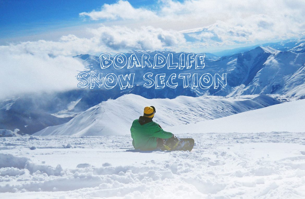Boardlife snow section