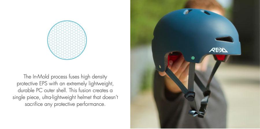 REKD Ultralite skate helmet specs