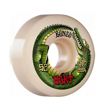 Bones STF Hart Speed Gator v5 52mm White 99A1