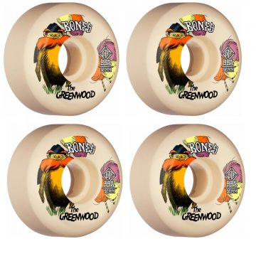 Bones STF The Greenwood 52mm White v5 99A