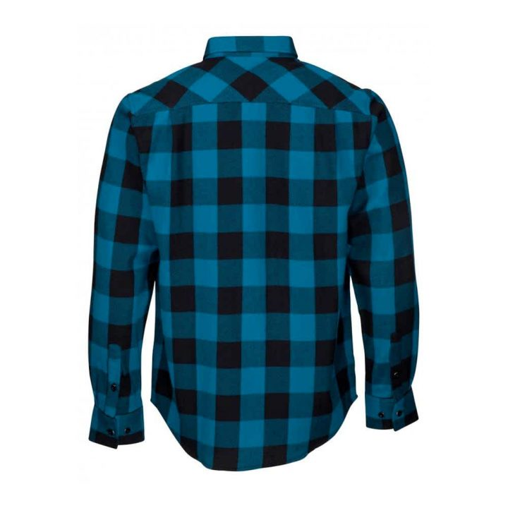 Santa Cruz Excess Work Shirt - Ink Blue Check back