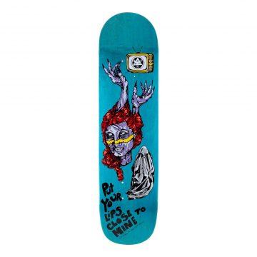 Welcome Skateboards Beldam Bunyip Mid Teal Stain 8 25
