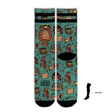 American Socks - Black Pearl