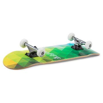 Enuff Skateboards Geometric Green Graphic Angle