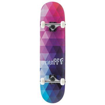 Enuff Skateboards Geometric Purple Main