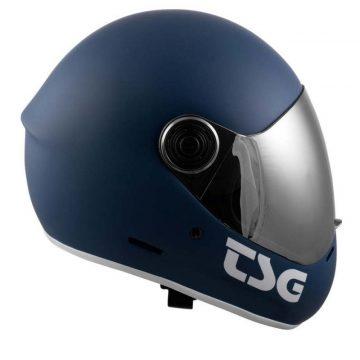 TSG Pass Helmet Matte Blue right