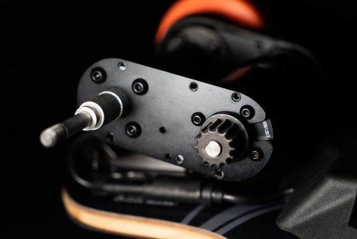 Exway Flex motor brackets attached