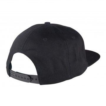Santa Cruz Cap Classic Dot snapback black back