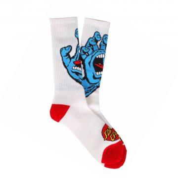 Santa Cruz Screaming Hand Skate socks
