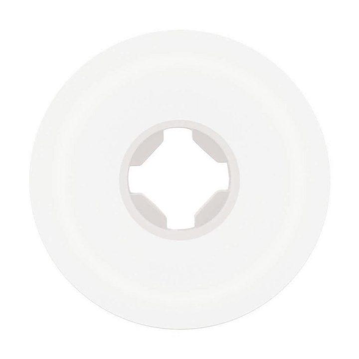 Santa Cruz Slime Balls Vomit Mini II White 53mm 97a skateboard wheel back