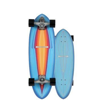 Carver skateboards blue haze C7