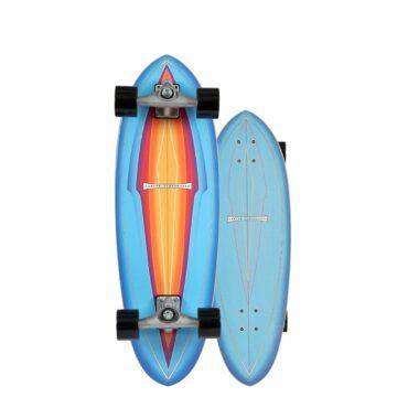 Carver skateboards blue haze CX