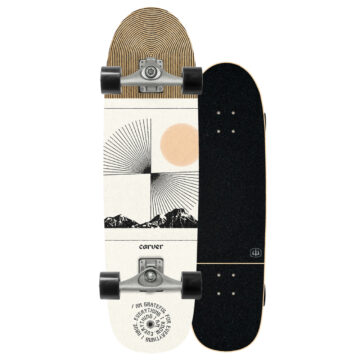 Carver skateboards streetsurf Scape C5 2021