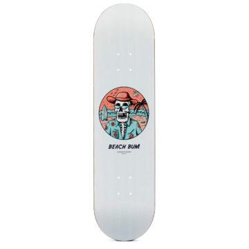 """Heartwood Skateboards - Beach Bum 8.125"""" deck only"""