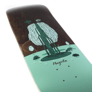 """Magenta skateboards soy panday landscape 8.125 """""""