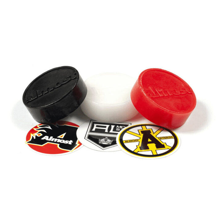 Almost skate wax puck
